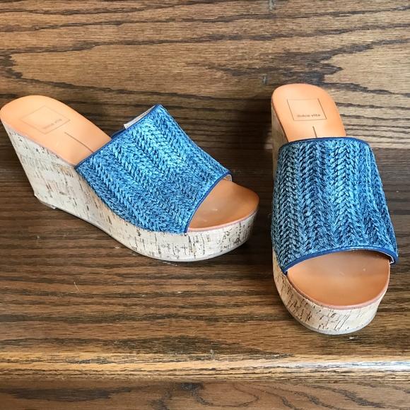 2a27066a1e3 *Host Pick* Dolce Vita Barkley Cork Wedge Sandals